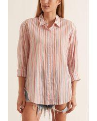 Xirena Pink Beau Shirt