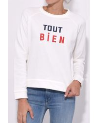 Sea - White Tout Bien Sweatshirt - Lyst