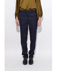 Tibi Blue Rafferty Emmy Pants