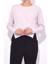Dorothee Schumacher - Pink Vivid Dreamscapes Pullover In Cherry Blossom - Lyst