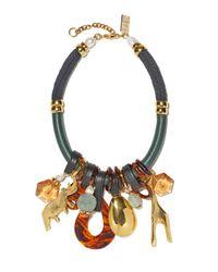 Lizzie Fortunato - Multicolor Safari State Of Mind Necklace - Lyst