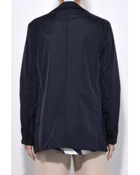 Aspesi - Nylon Water Repellent Jacket In Blue - Lyst