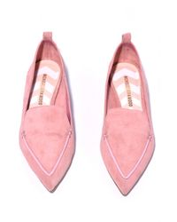 Nicholas Kirkwood Beya Loafer In Dusty Pink