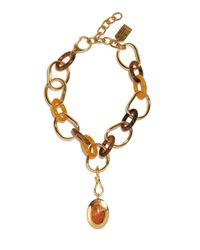 Lizzie Fortunato - Metallic Porto Link Necklace - Lyst