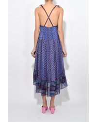 Ulla Johnson Blue Talin Dress In Cerulean
