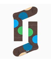 Jumbo Dot Sock Happy Socks de color Blue