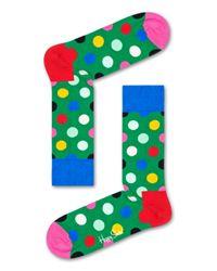 Big Dot Sock Happy Socks de color Green