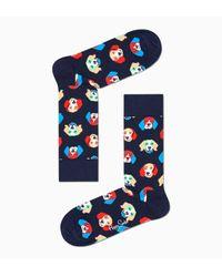 Happy Socks Beagle Sock in het Blue