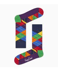 Argyle Sock Happy Socks de color Multicolor
