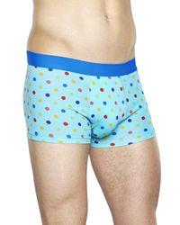 Dot Trunk Happy Socks de hombre de color Blue