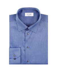 Eton of Sweden - Red Contemporary Fit Signature Twill Shirt for Men - Lyst
