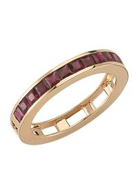 Bee Goddess - Red Mondrian Ruby Ring - Lyst