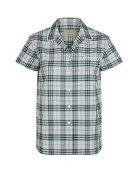 Burberry Natural Lace Trim Shirt for men
