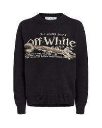 Off-White c/o Virgil Abloh Black Pascal Tool Sweater for men
