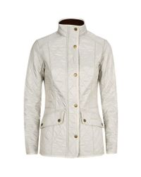 Barbour | Natural Cavalry Polarquilt Jacket | Lyst