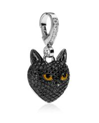 Theo Fennell - Black Cat Pendant - Lyst