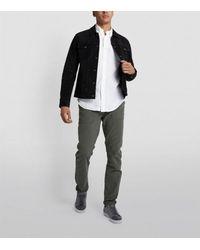Ralph Lauren White Custom-fit Linen Shirt for men