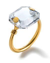 Baccarat Metallic Marie-hlne De Taillac Ring
