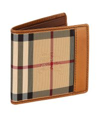 Burberry | Brown Horseferry Check Billfold Wallet for Men | Lyst