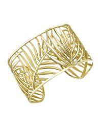 Theo Fennell Metallic Palm Diamond Cuff