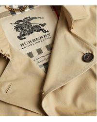 Burberry Natural The Sandringham Long Heritage Trench Coat for men