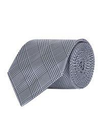 Polo Ralph Lauren - Blue Check Silk Tie for Men - Lyst