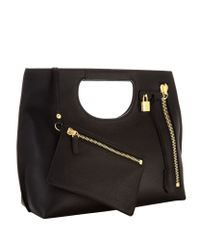 Tom Ford - Black Small Alix Tote Bag - Lyst
