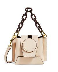 Yuzefi Natural Leather Daria Bucket Bag