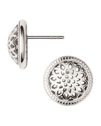 Links of London - Pink Timeless Stud Earrings - Lyst