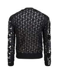 Elie Tahari Black Monica Lace Jacket