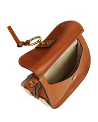 Chloé Brown Small Kurtis Shoulder Bag