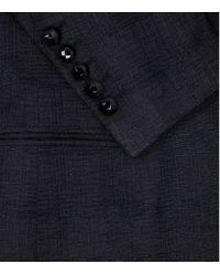 Billionaire Black Texture Silk Tuxedo Jacket for men