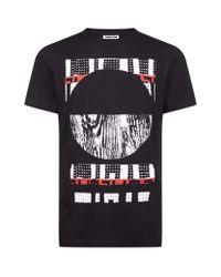 McQ - Black Woodland Geometric T-shirt for Men - Lyst