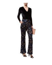 Self-Portrait - Multicolor Lace Sequinned Trousers - Lyst