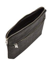 Armani Jeans Black Logo Print Bag for men