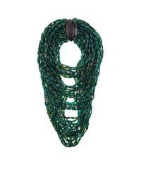 Eskandar | Green Multistrand Horn Necklace | Lyst