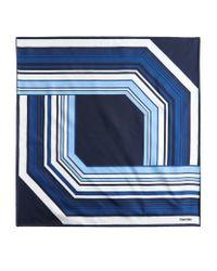Tom Ford | Blue Seventies Striped Pochette for Men | Lyst