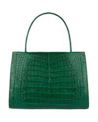 Nancy Gonzalez | Green Medium Crocodile Wallis Tote Bag | Lyst
