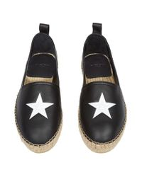 Givenchy - Black Star Espadrilles - Lyst