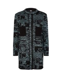 M Missoni   Black Bouclé Tweed Jacket   Lyst