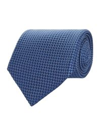 Corneliani - Blue Circle Silk Tie for Men - Lyst