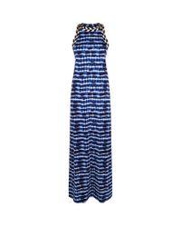 Tory Burch | Blue Pelton Maxi Dress | Lyst