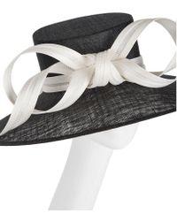 Philip Treacy - Multicolor Ribbon Bow Wide Brim Hat - Lyst