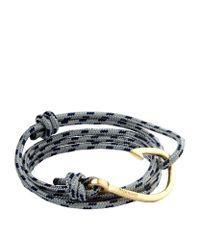 Miansai | Metallic Gold Hook Rope Bracelet for Men | Lyst