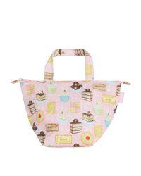 Harrods Pink Afternoon Tea Lunch Bag