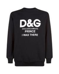 Dolce & Gabbana Black Logo Sweater for men