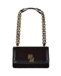 Bottega Veneta Black City Knot Olimpia Shoulder Bag