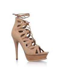 Saint Laurent | Natural Tribute Gladiator Sandals | Lyst
