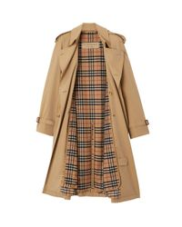 Burberry Yellow Chelsea And Kensington Trench Coat Warmer for men