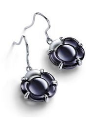 Baccarat - Blue B Flower Earrings - Lyst